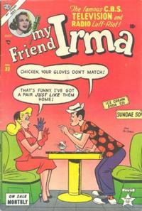 Cover Thumbnail for My Friend Irma (Marvel, 1950 series) #33