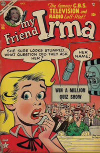 Cover Thumbnail for My Friend Irma (Marvel, 1950 series) #46