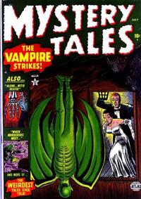 Cover Thumbnail for Mystery Tales (Marvel, 1952 series) #3
