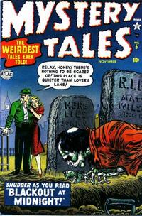 Cover Thumbnail for Mystery Tales (Marvel, 1952 series) #5