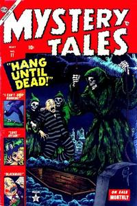 Cover for Mystery Tales (1952 series) #11