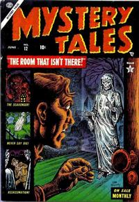 Cover Thumbnail for Mystery Tales (Marvel, 1952 series) #12