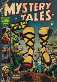 Cover Thumbnail for Mystery Tales (Marvel, 1952 series) #16