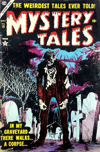 Cover Thumbnail for Mystery Tales (Marvel, 1952 series) #19