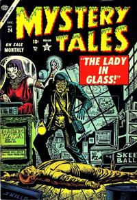 Cover Thumbnail for Mystery Tales (Marvel, 1952 series) #24
