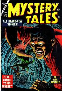 Cover Thumbnail for Mystery Tales (Marvel, 1952 series) #26