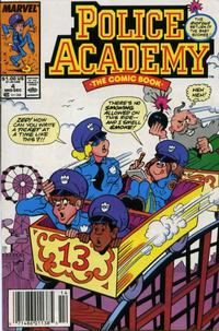 Cover Thumbnail for Police Academy (Marvel, 1989 series) #4