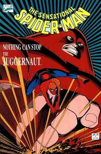 Cover Thumbnail for The Sensational Spider-Man in Nothing Can Stop the Juggernaut (Marvel, 1989 series)