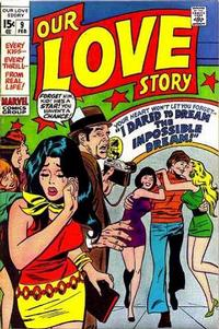 Cover Thumbnail for Our Love Story (Marvel, 1969 series) #9