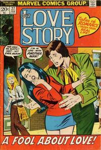 Cover Thumbnail for Our Love Story (Marvel, 1969 series) #27