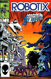 Cover Thumbnail for Robotix (Marvel, 1986 series) #1 [Direct Edition]