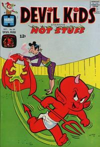 Cover Thumbnail for Devil Kids Starring Hot Stuff (Harvey, 1962 series) #20