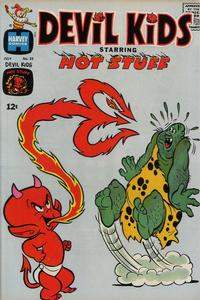 Cover for Devil Kids Starring Hot Stuff (Harvey, 1962 series) #25