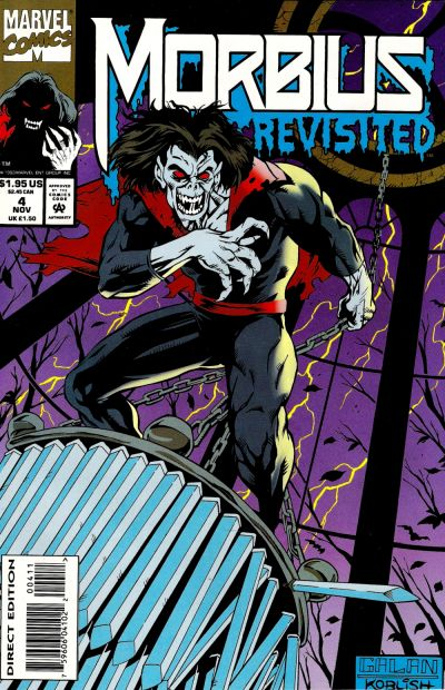 Cover for Morbius Revisited (Marvel, 1993 series) #4
