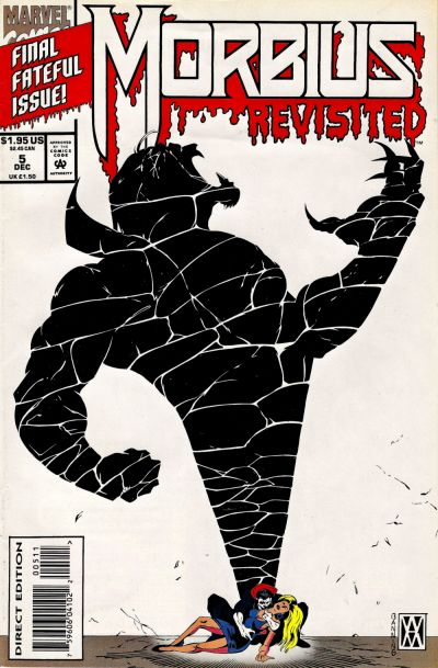 Cover for Morbius Revisited (Marvel, 1993 series) #5