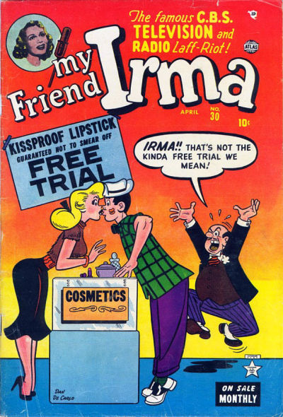 Cover for My Friend Irma (Marvel, 1950 series) #30