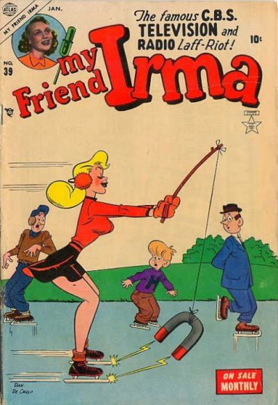 Cover for My Friend Irma (Marvel, 1950 series) #39