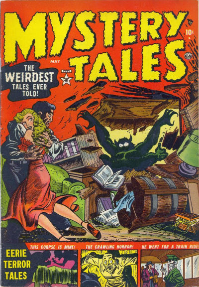 Cover for Mystery Tales (Marvel, 1952 series) #2