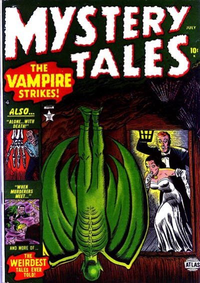 Cover for Mystery Tales (Marvel, 1952 series) #3
