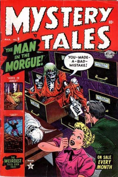 Cover for Mystery Tales (Marvel, 1952 series) #9