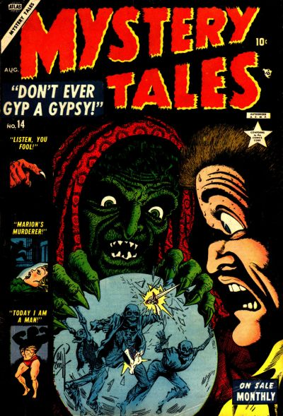 Cover for Mystery Tales (Marvel, 1952 series) #14