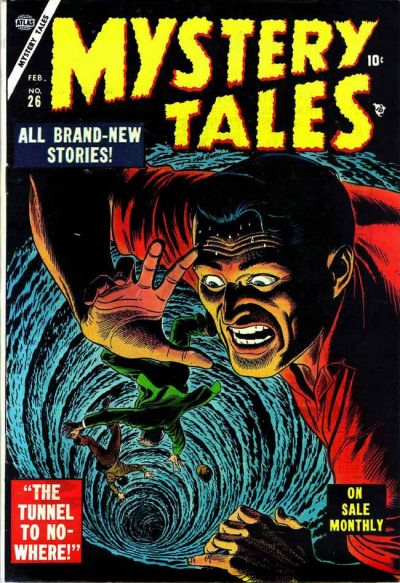 Cover for Mystery Tales (Marvel, 1952 series) #26