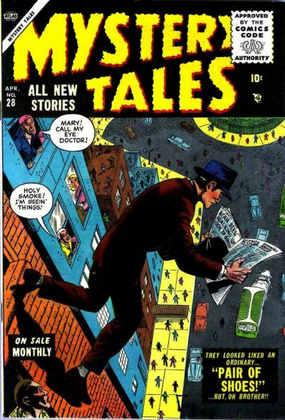 Cover for Mystery Tales (Marvel, 1952 series) #28