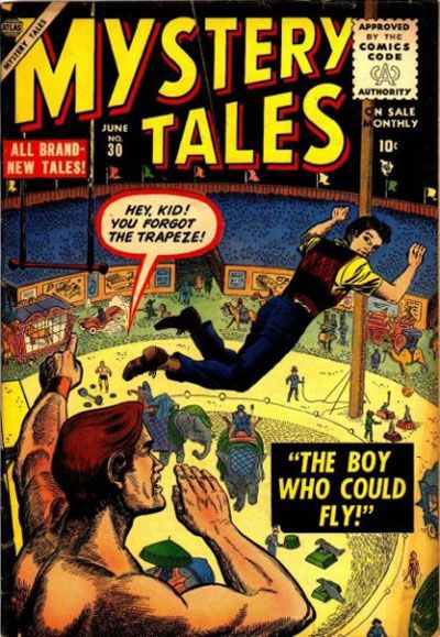 Cover for Mystery Tales (Marvel, 1952 series) #30