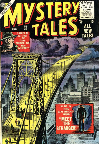 Cover for Mystery Tales (Marvel, 1952 series) #32