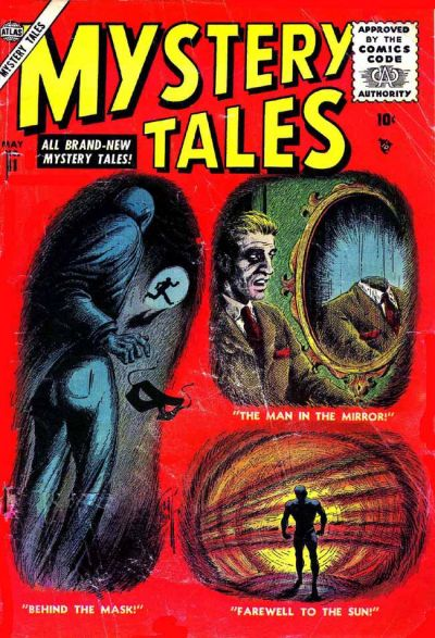 Cover for Mystery Tales (1952 series) #41
