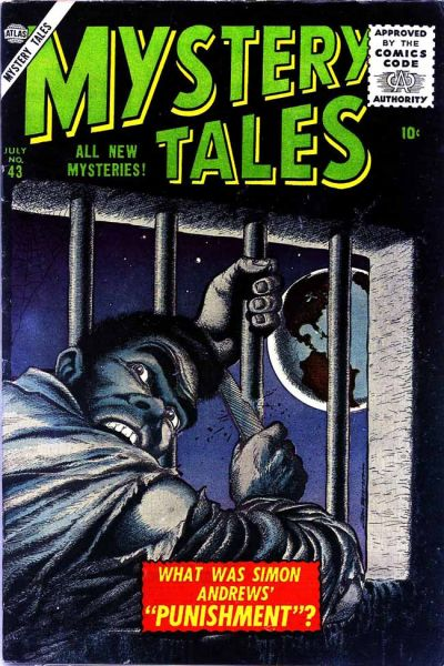 Cover for Mystery Tales (Marvel, 1952 series) #43