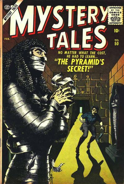 Cover for Mystery Tales (Marvel, 1952 series) #50
