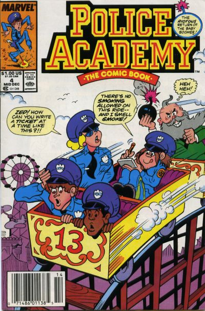 Cover for Police Academy (Marvel, 1989 series) #4