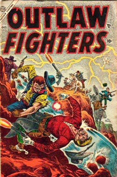 Cover for Outlaw Fighters (1954 series) #2