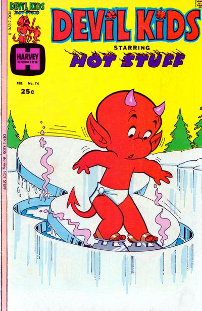 Cover for Devil Kids Starring Hot Stuff (Harvey, 1962 series) #74