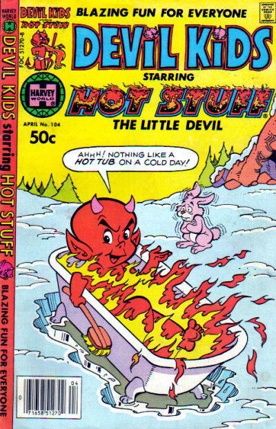 Cover for Devil Kids Starring Hot Stuff (Harvey, 1962 series) #104
