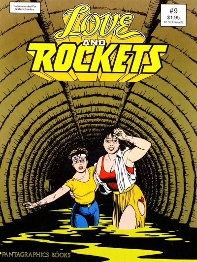 Cover for Love and Rockets (1982 series) #9