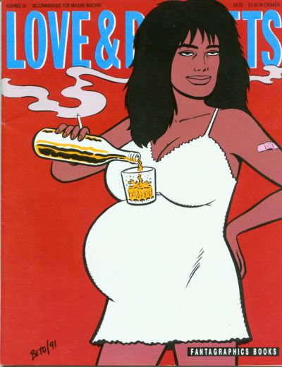 Cover for Love and Rockets (Fantagraphics, 1982 series) #36