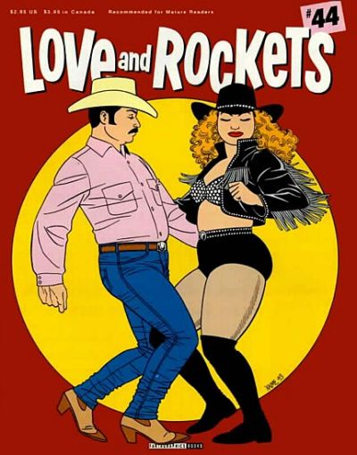 Cover for Love and Rockets (Fantagraphics, 1982 series) #44