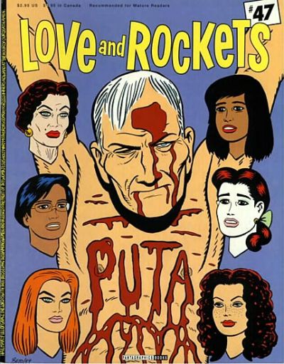 Cover for Love and Rockets (1982 series) #47