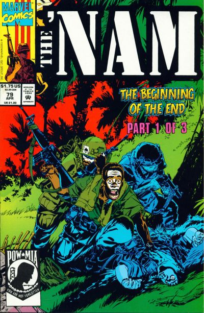 Cover for The 'Nam (Marvel, 1986 series) #79