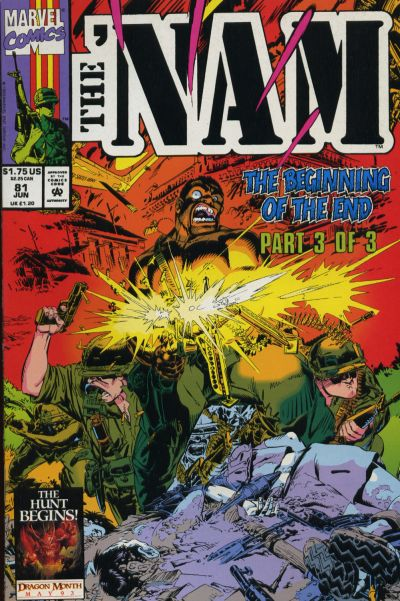 Cover for The 'Nam (Marvel, 1986 series) #81