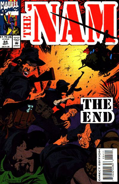 Cover for The 'Nam (Marvel, 1986 series) #84