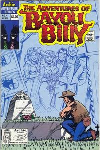 Cover Thumbnail for The Adventures of Bayou Billy (Archie, 1989 series) #4