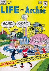 Cover for Life with Archie (Archie, 1958 series) #31