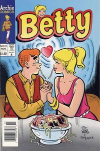 Cover Thumbnail for Betty (Archie, 1992 series) #31
