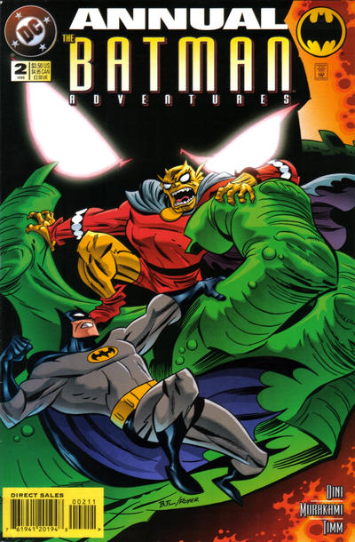 Cover for The Batman Adventures Annual (DC, 1994 series) #2 [Newsstand Edition]