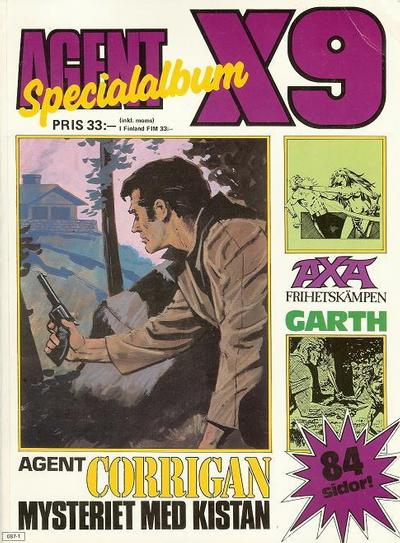 Cover for Agent X9 Specialalbum (1985 series) #[1987]