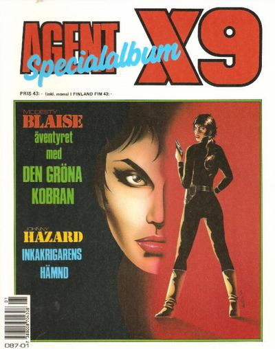 Cover for Agent X9 Specialalbum (Semic, 1985 series) #[1990]