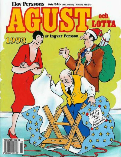 Cover for Agust och Lotta [julalbum] (Semic, 1988 series) #1993